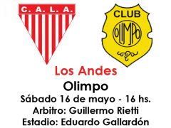 Historial Olimpo - Los Andes