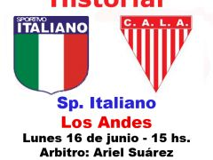 Historial: Sp. Italiano vs