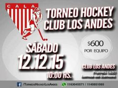 Torneo de Hockey en el club