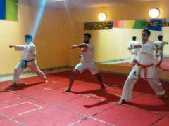 Karate en el club